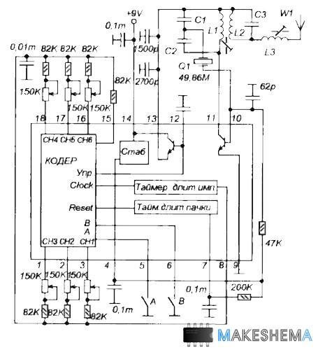 систем радиоуправления,