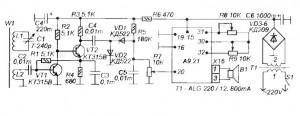 Схема простого AM-радиоприемника
