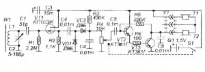 Радиоприемник с полевым транзистором