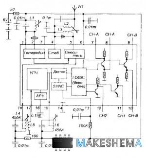 Микросхема LM1872