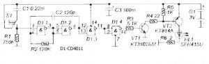Схема дистанционного выключателя люстры