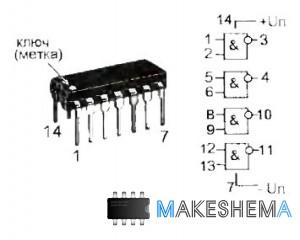 Устройства на микросхеме К561ЛА7