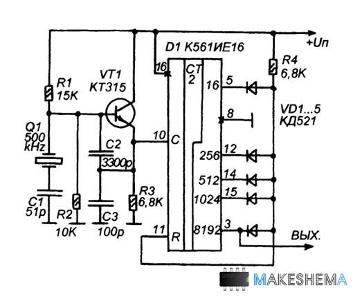 генератор частоты 50 Гц,