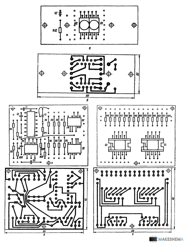 Схема цифрового индикатора напряжения фото 429