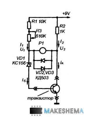 испытании транзисторов