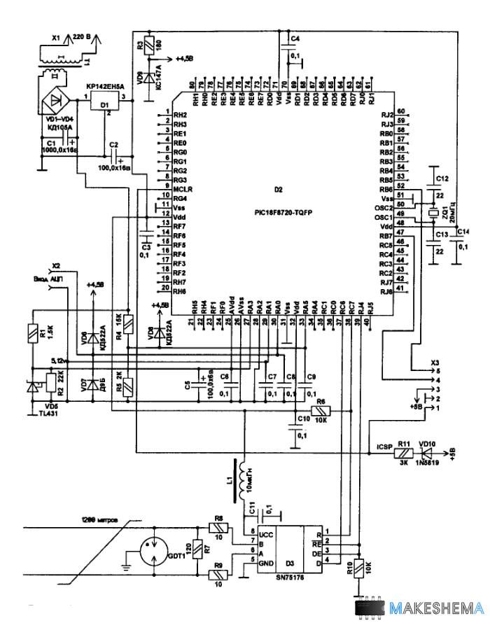 RS485 к USB На месте