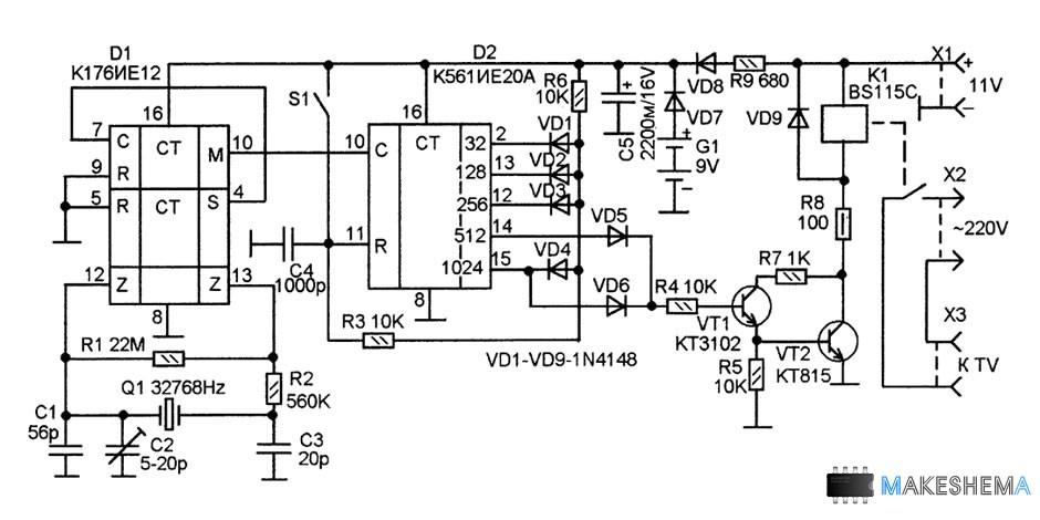 схема механического телевизора
