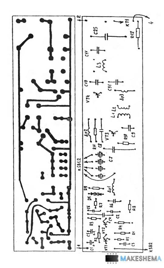 Схема автомобильной
