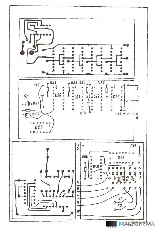 Схема радиолюбительского