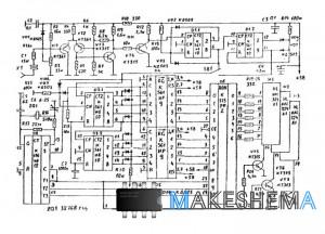 Схема цифрового частотомера
