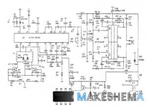 Схема простого автомобильного радиоприемника